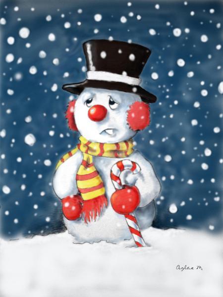 bonhomme-de-neige-couleur