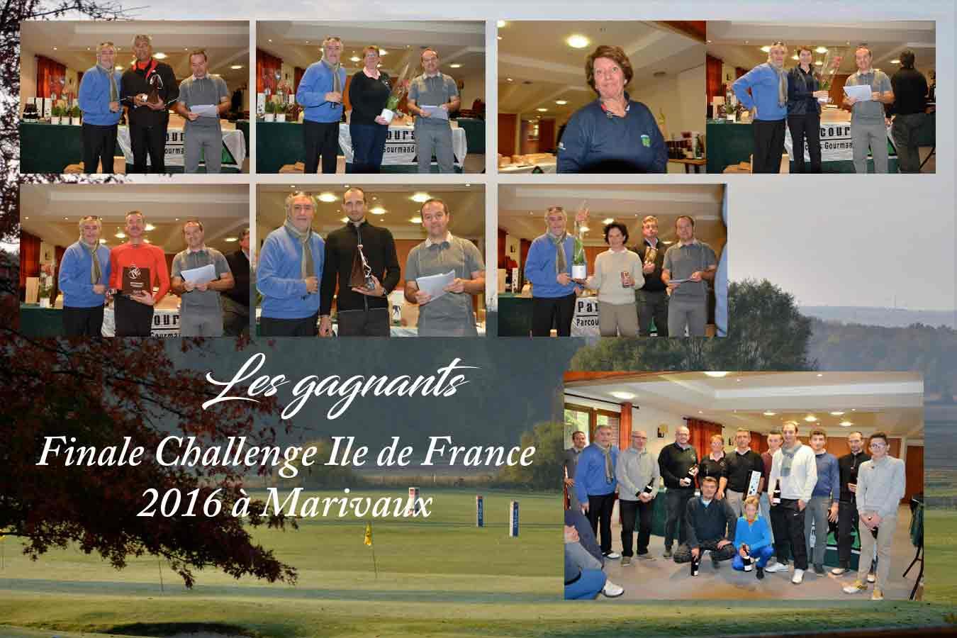 2016 Finale Challenge IDF à Marivaux