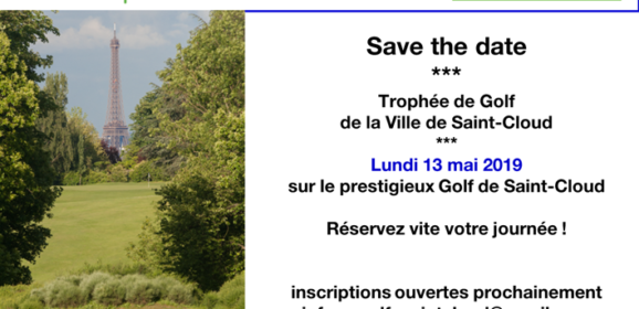 13 ème trophée golf de La Ville de Saint Cloud