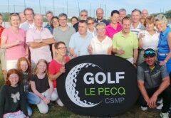 photo des joueurs à la Fête de l'école de golf.