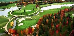 Golf d'automne à Hersant