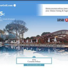 Turkish Airline Open du 3 au 10 novembre