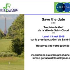 13 ème trophée golf de La Ville de Saint Cloud