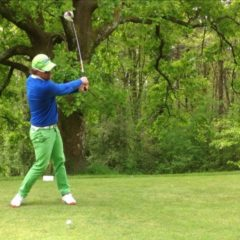 Stage intensif de golf pendant le confinement